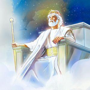 God on throne 2